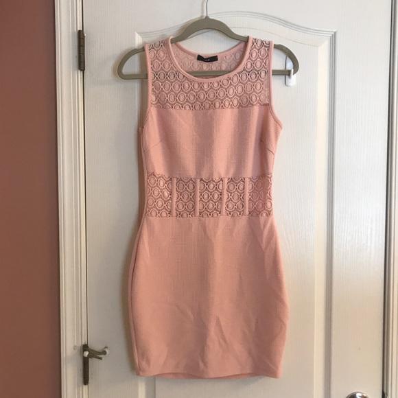 Dresses & Skirts | Elegant Light Pink Cocktail Dress | Poshmark